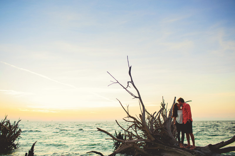 bradenton beach engagement photographer