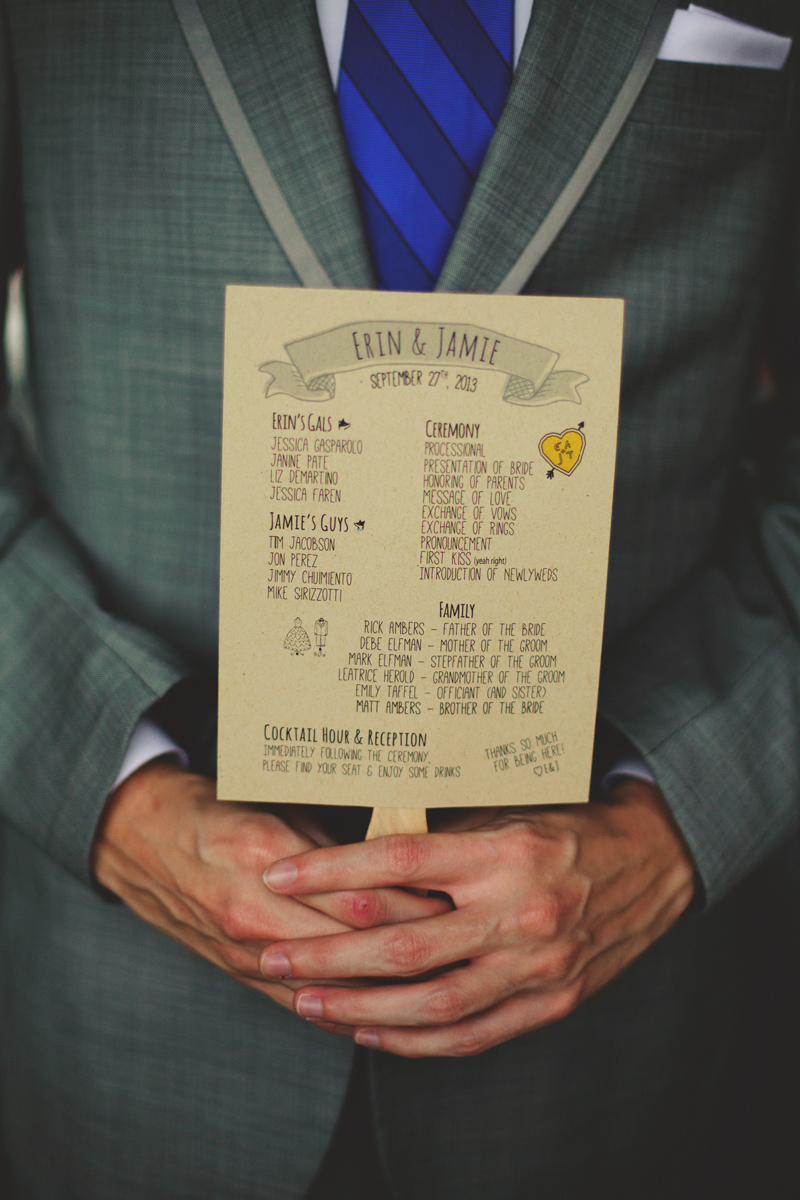 winter park farmers market wedding: program