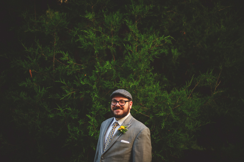 winter park farmers market wedding: grooms portrait