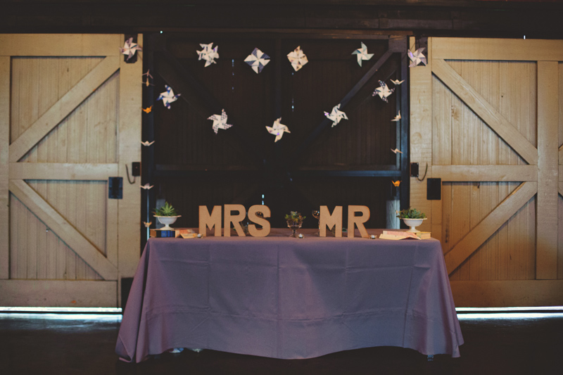 winter park farmers market wedding: mr and mrs