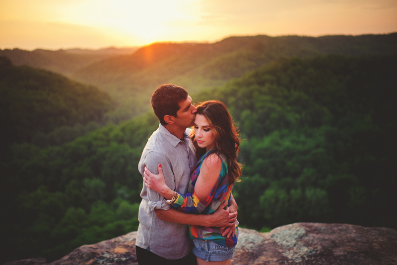 red river gorge wedding photos