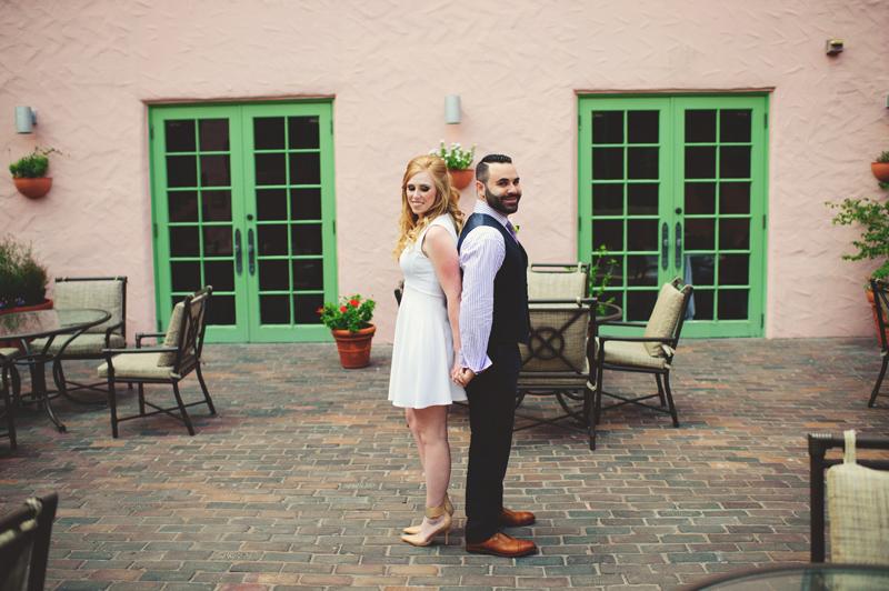 st pete elopement:  first look
