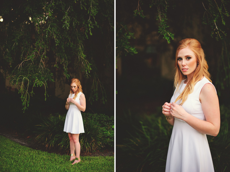 st pete elopement:  bride portraits