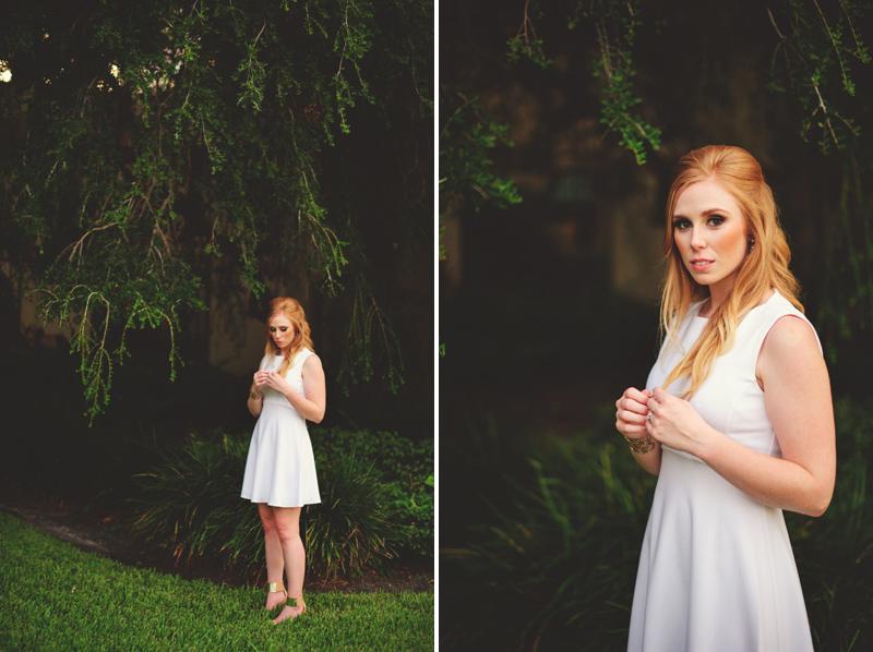 st pete elopement:  bride portraits