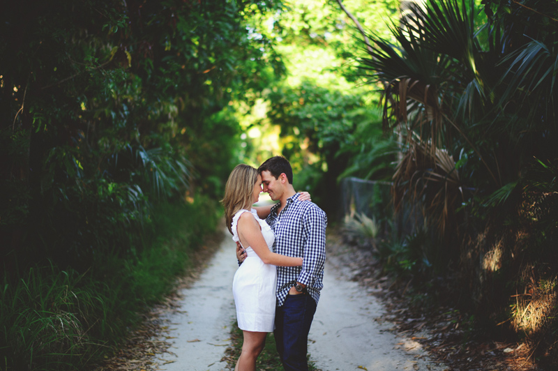 jupiter engagement session: romantic photos