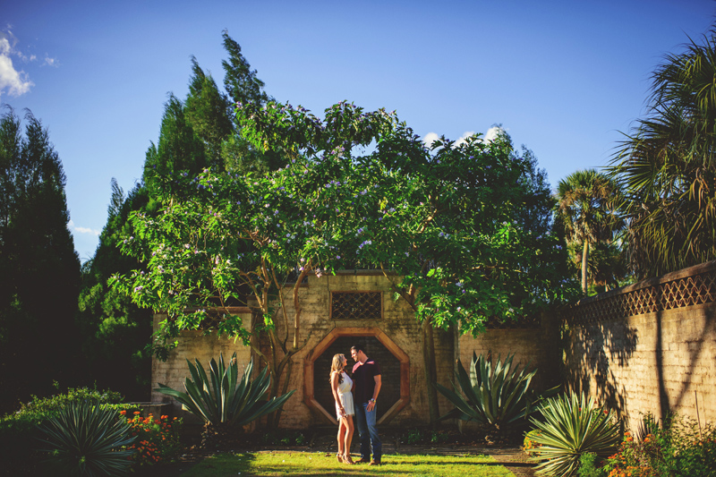 bok tower engagement session photographer