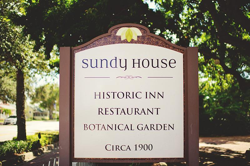 romantic sundy house wedding: sign
