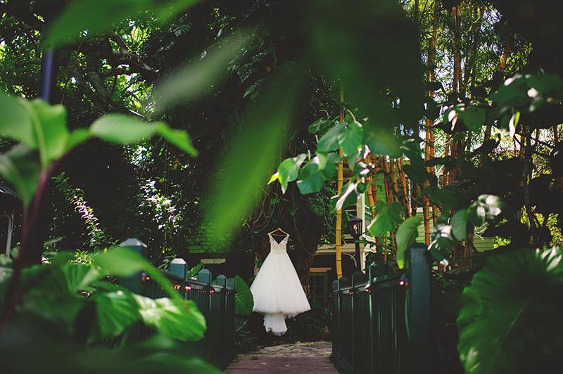 romantic sundy house wedding: dress