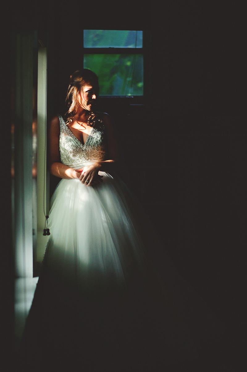 romantic sundy house wedding: bride