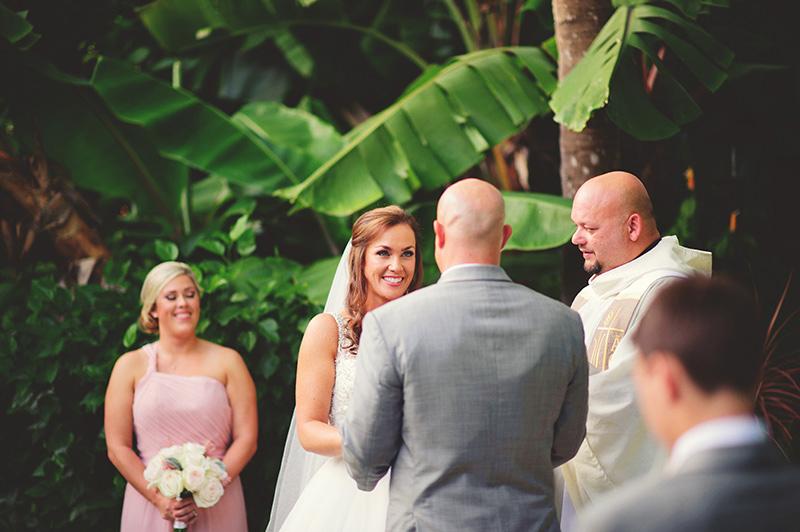 romantic sundy house wedding: happy bride