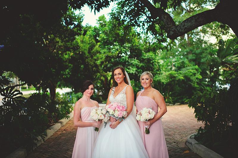 romantic sundy house wedding: bridesmaids