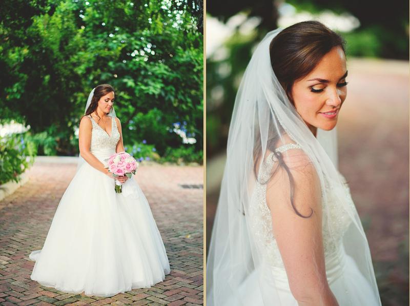 romantic sundy house wedding: gorgeous bride