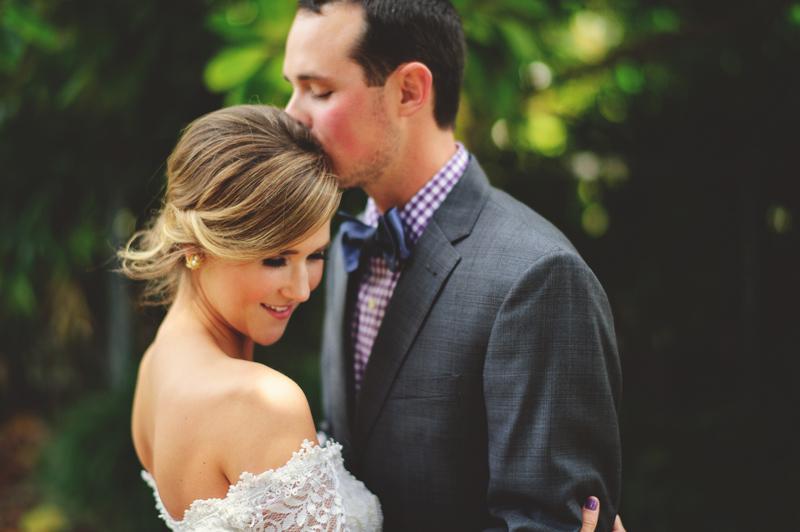 backyard wedding tampa: soaking it in