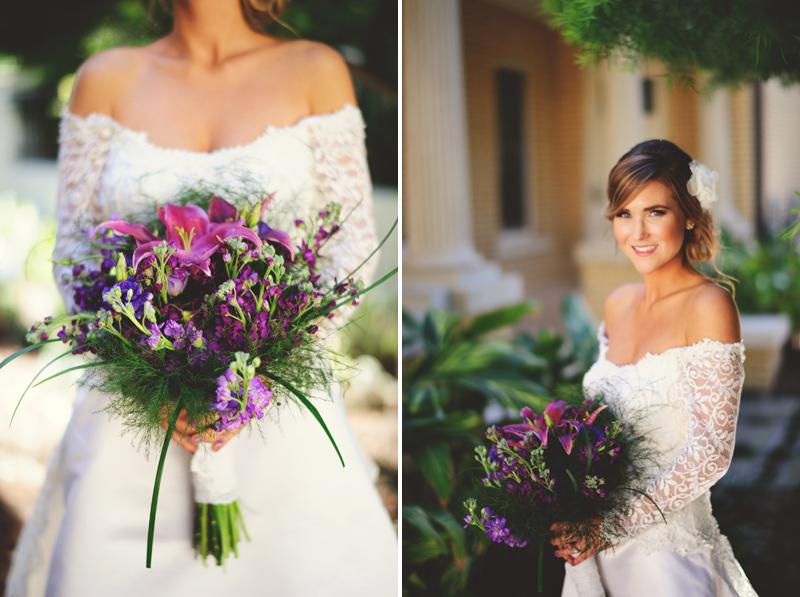 backyard wedding tampa: photos of bride