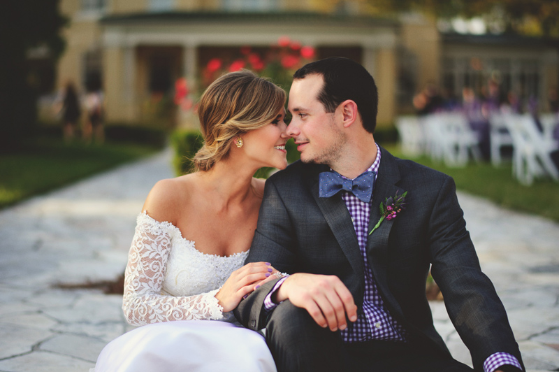 romantic tampa wedding photos