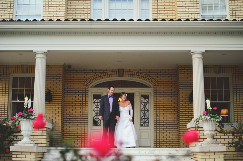 backyard tampa wedding: introduction
