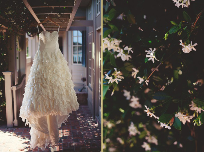 boho backyard wedding naples: boho dress