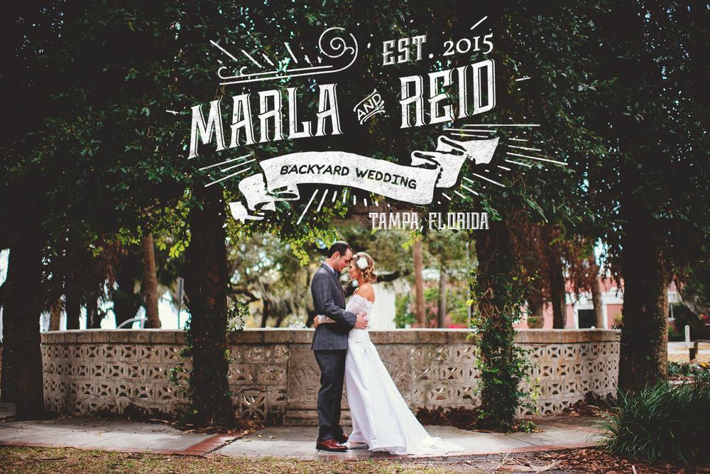 backyard wedding photographer tampa
