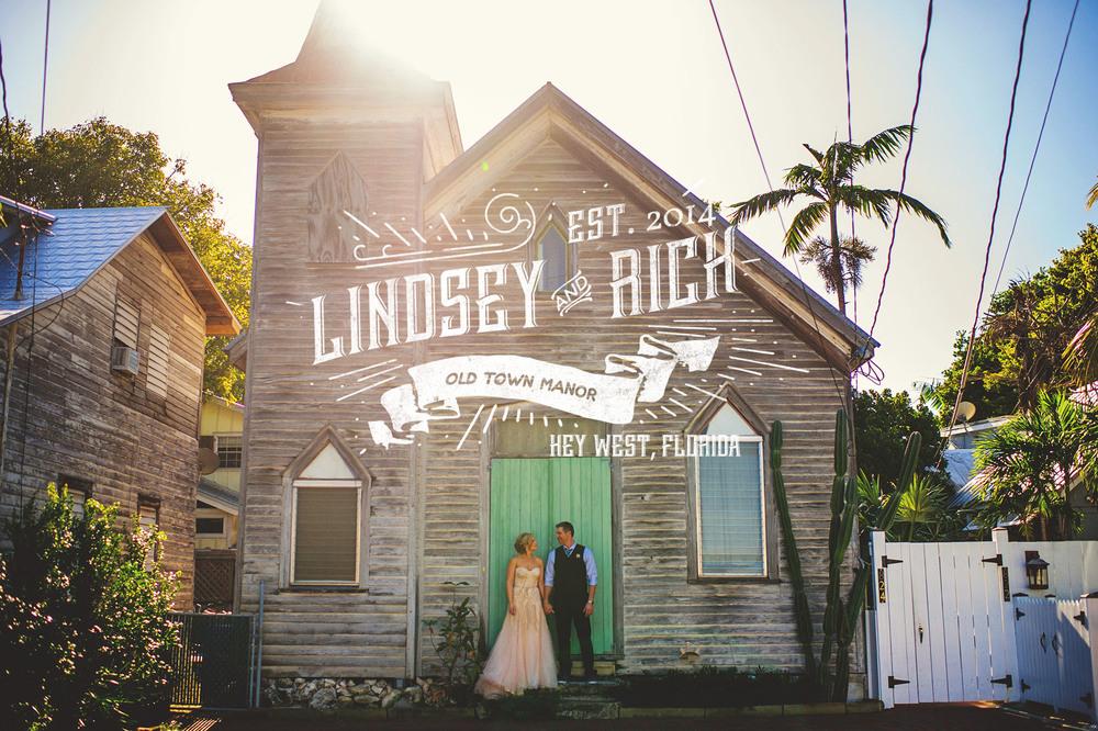 lindsey rick old town manor wedding key west fl. Black Bedroom Furniture Sets. Home Design Ideas