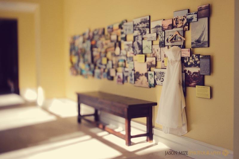 sandpearl wedding: wedding dress