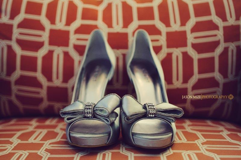 sandpearl wedding: bridal shoes