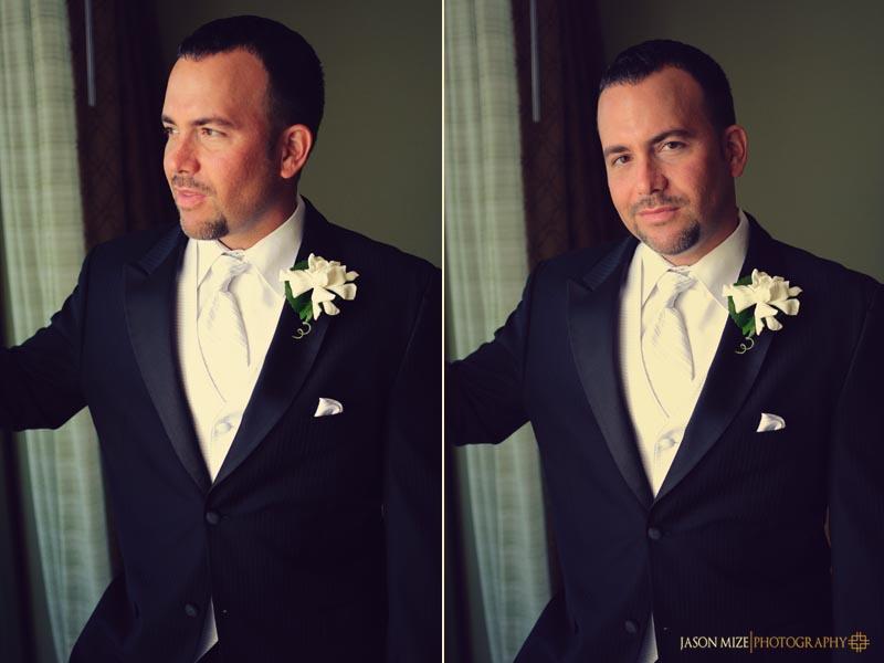 sandpearl wedding: groom portraits