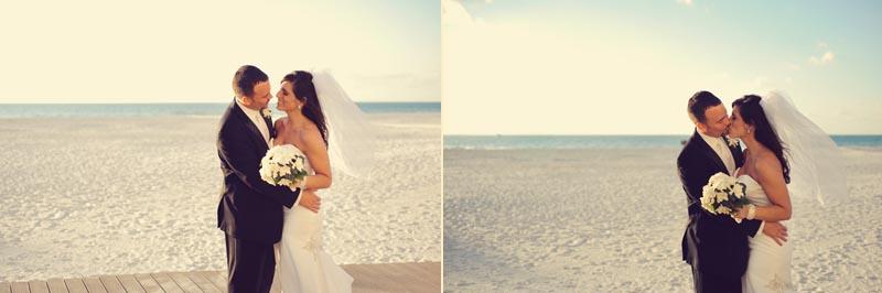 sandpearl wedding: boardwalk