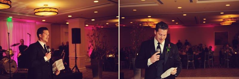 sandpearl wedding: toast