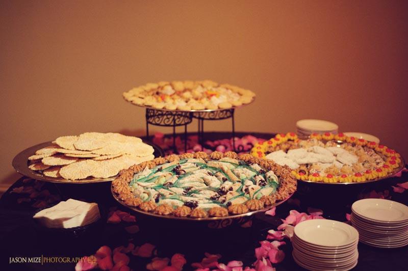 sandpearl wedding: italian cookies