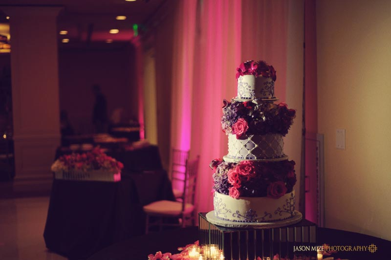 sandpearl wedding: chantilly cakes