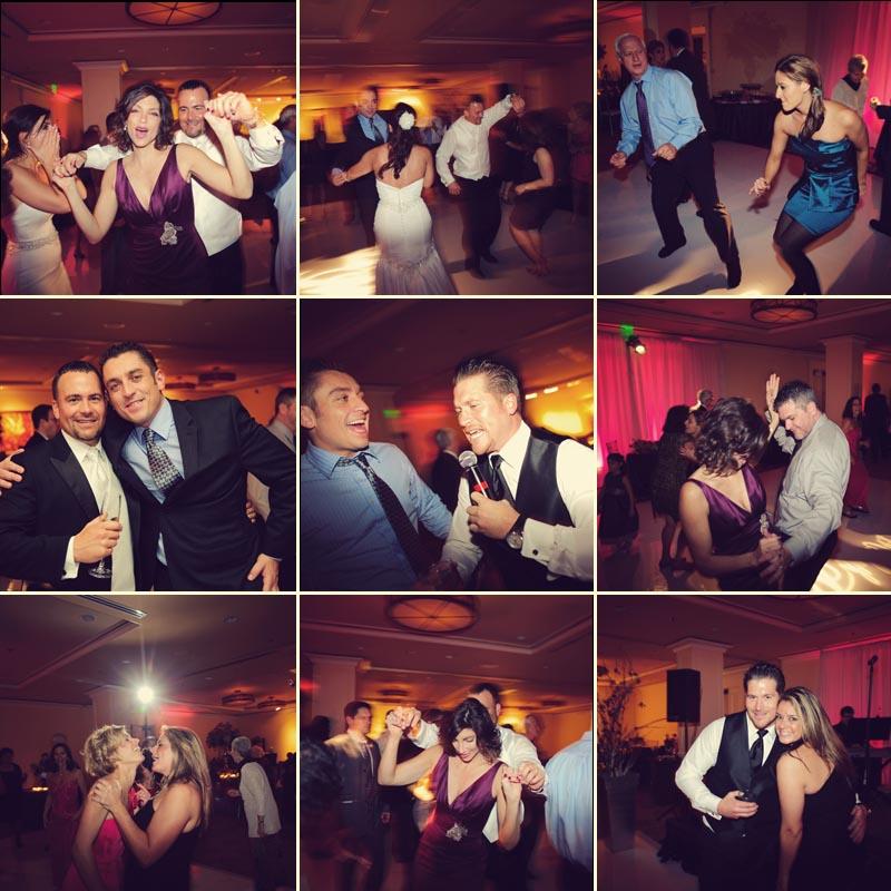 sandpearl wedding: fun dancing