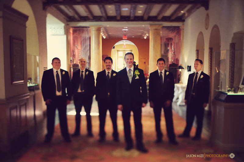 renaissance vinoy wedding: groomsmen