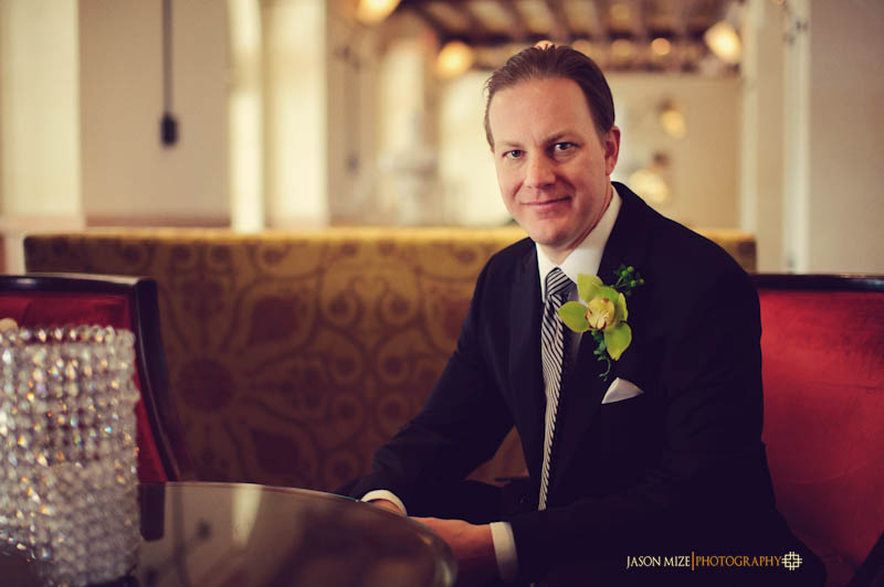 renaissance vinoy wedding: groom