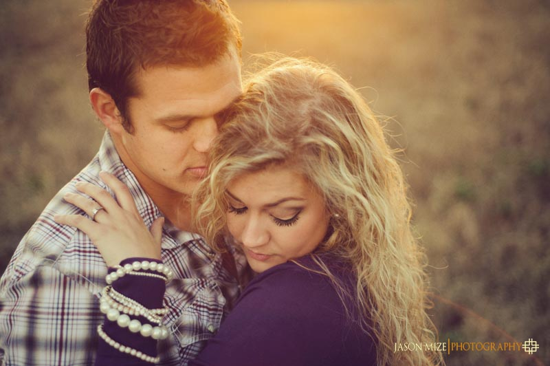 romantic engagement photographer