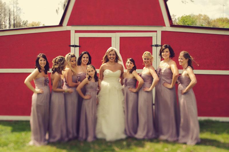 bridesmaids barn