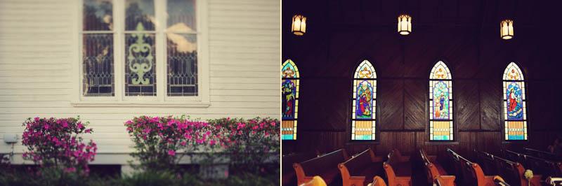 inside outside church