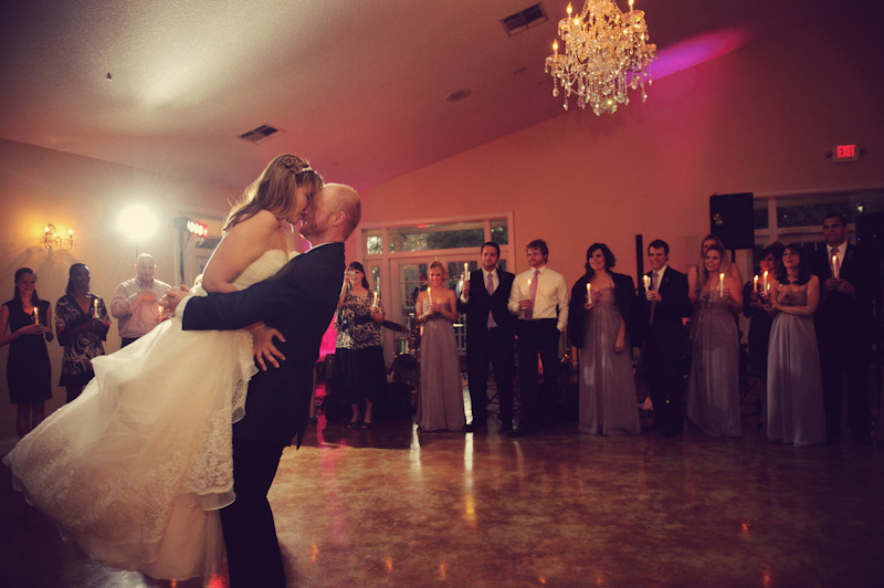 Lange Farm: first dance bride and groom