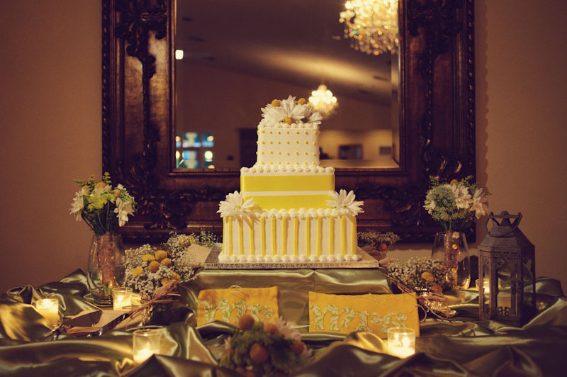 Lange Farm: wedding cake