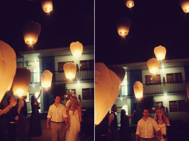 Postcard Inn: wishing lanterns