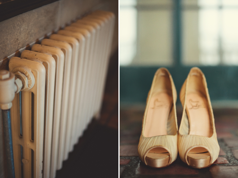 powel crosley estate wedding: shoes