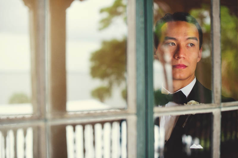 powel crosley estate wedding: groom portrait