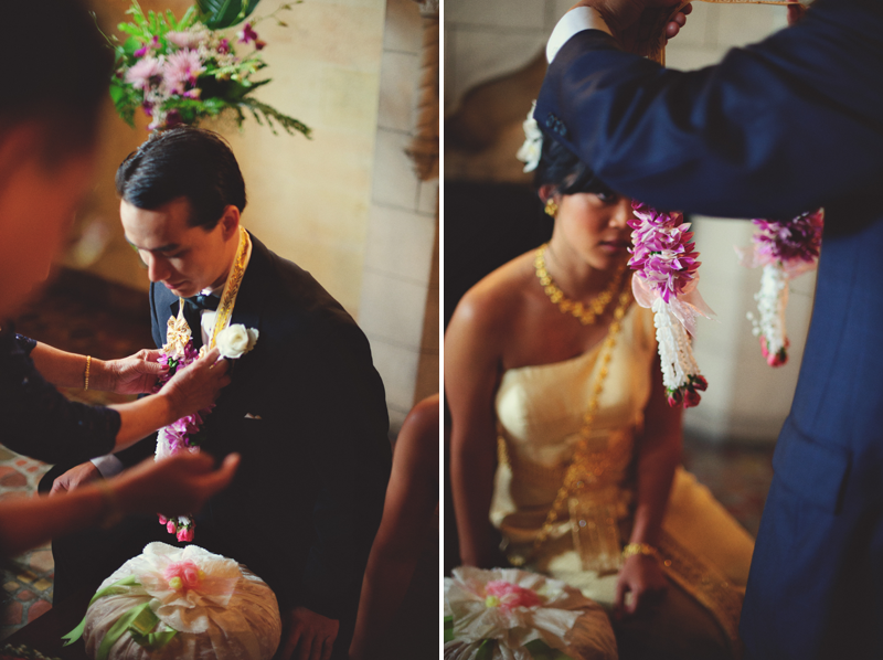 powel crosley estate wedding: thai ceremony