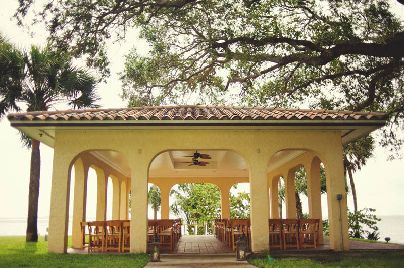 powel crosley estate wedding: ceremony site