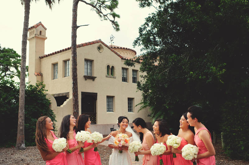 powel crosley estate wedding: bridesmaids