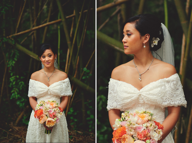 powel crosley estate wedding: bridal portraits