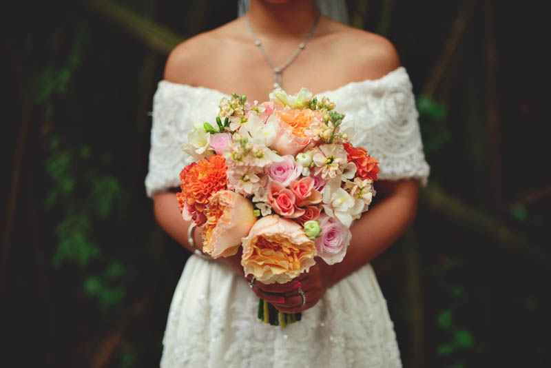 powel crosley estate wedding: bouquet shot