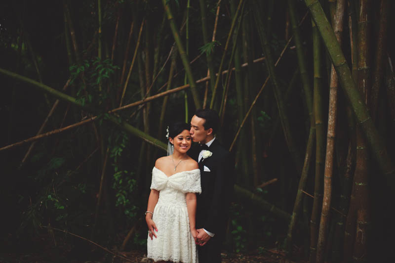powel crosley estate wedding: sweet portrait