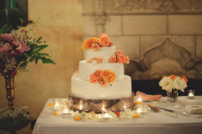 powel crosley estate wedding: cake