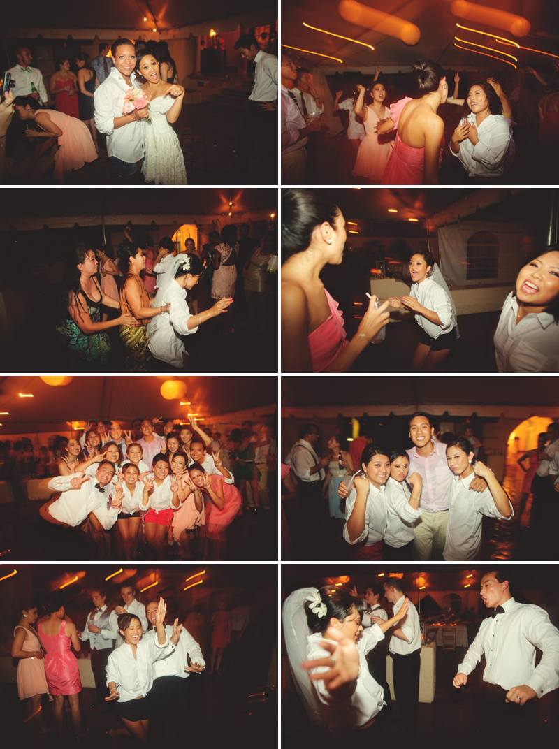 powel crosley estate wedding: fun dancing