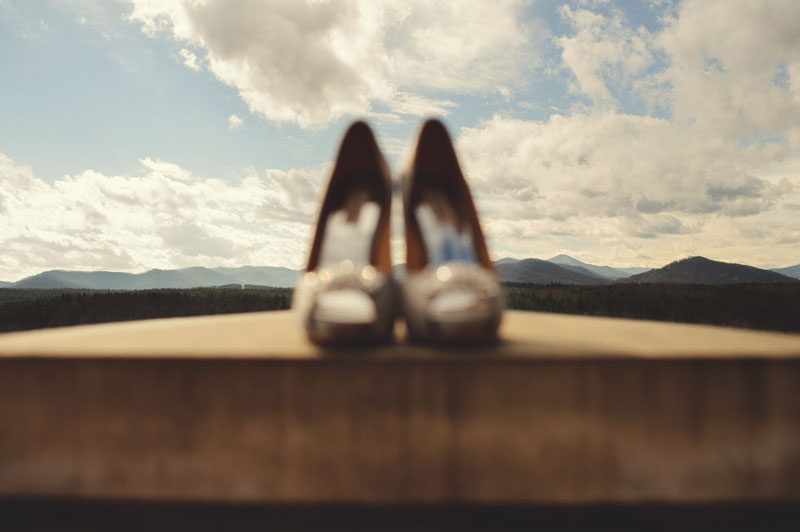 Biltmore Estate Wedding: wedding shoes
